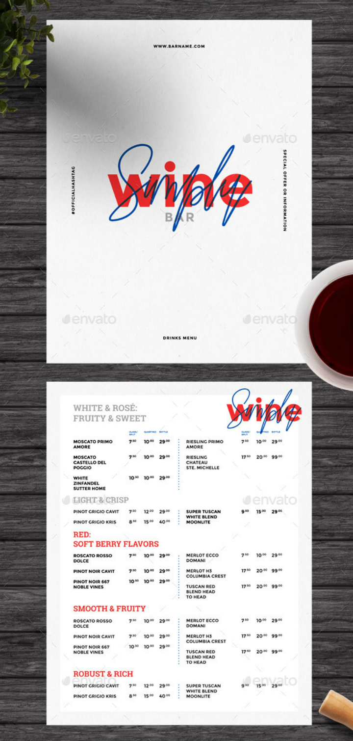 minimalist-wine-menu-design