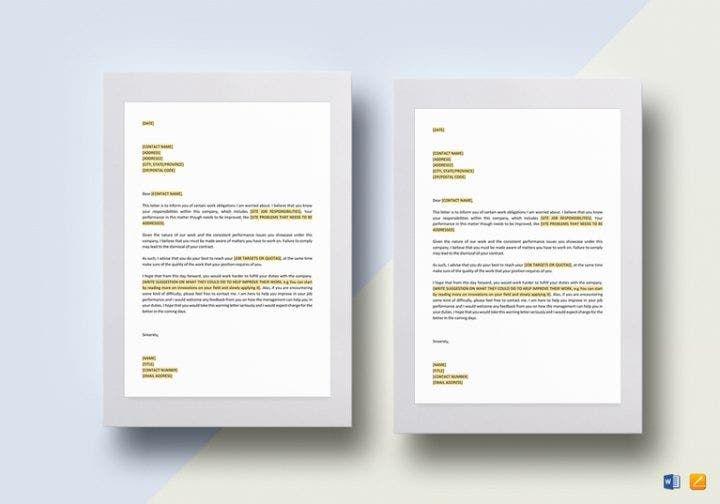 12+ Different Performance Appraisal Letters | Free & Premium ...