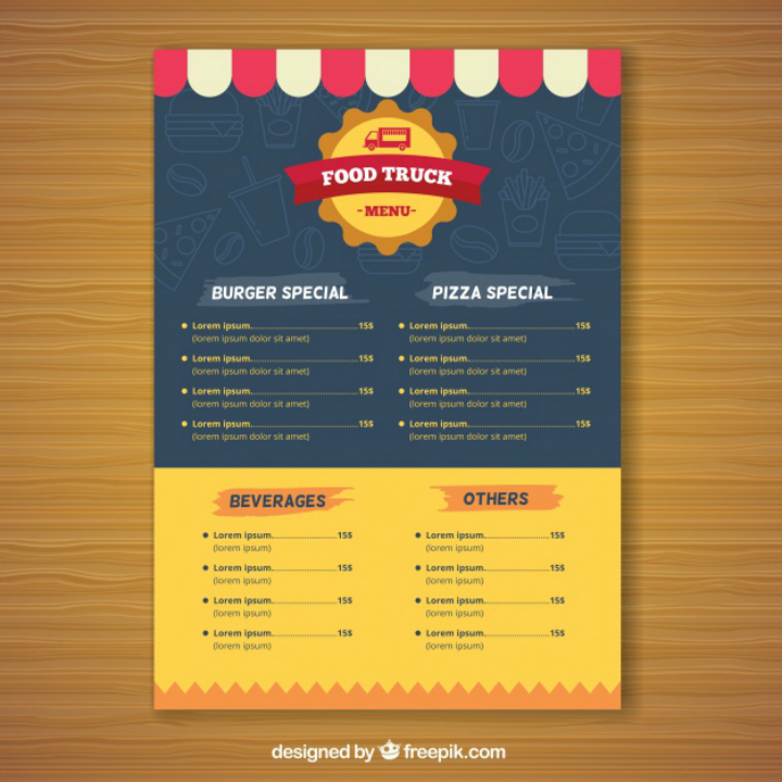 15  best product menu templates
