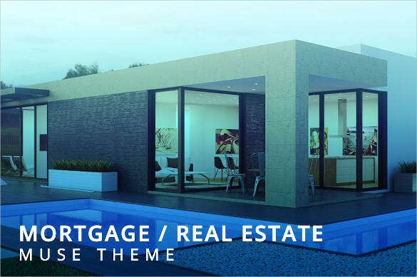 mortgage real estate website theme