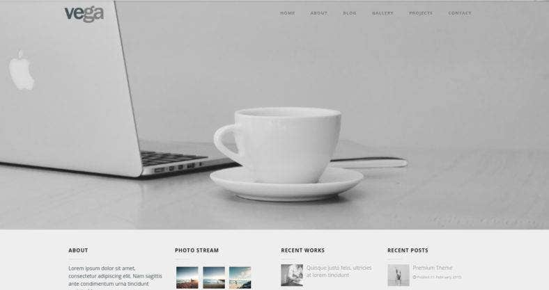 Personal Multipurpose WordPress Theme