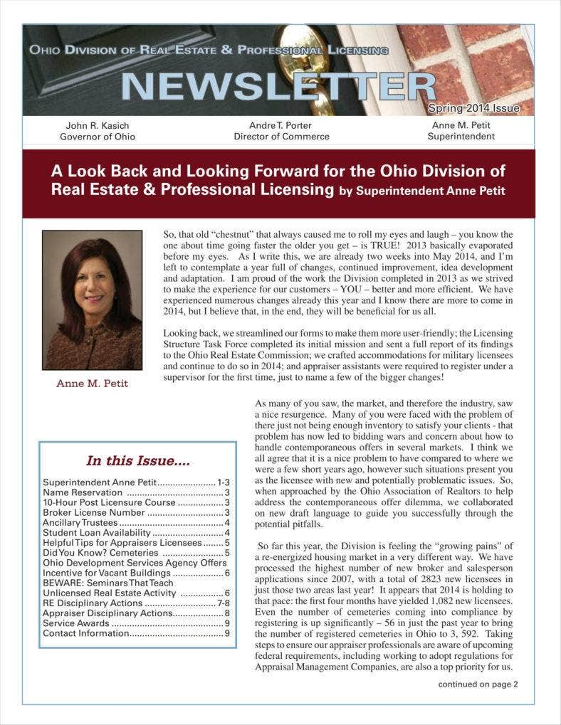 real estate newsletters for agents 11 788x1019