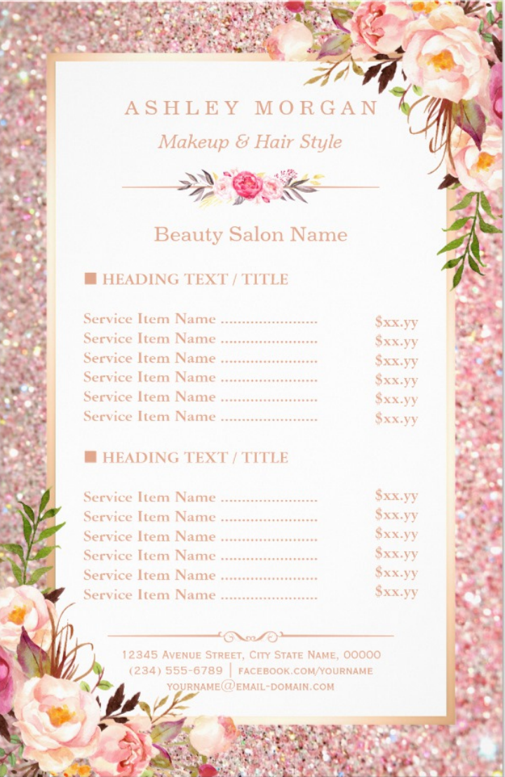rose-gold-salon-menu-design