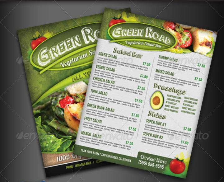 salad-bar-menu-flyer