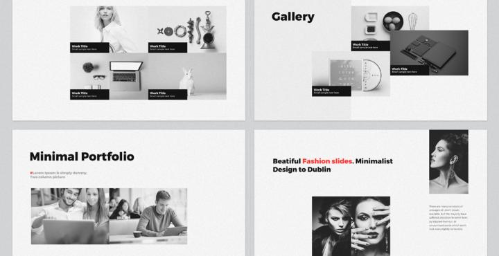 company portfolio slideshow