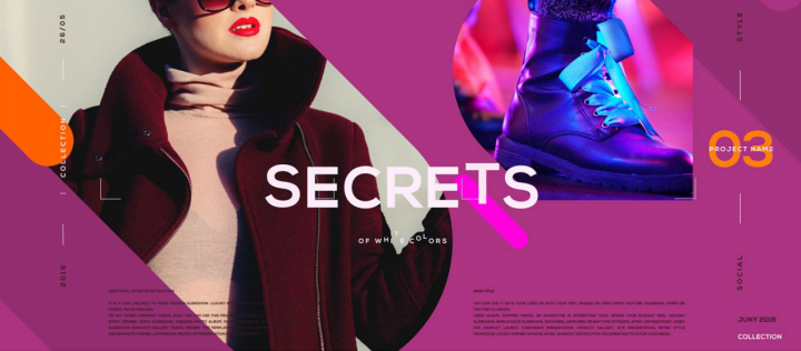 fashion slideshow template