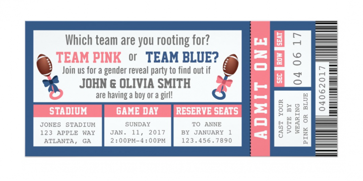 7 Sports Ticket Templates for Any Event – Sports Ticket Template