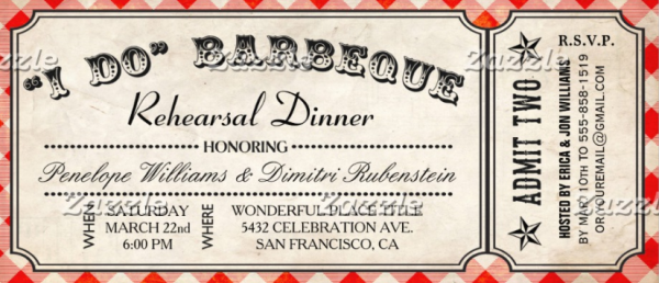 13  appetizing barbecue ticket templates