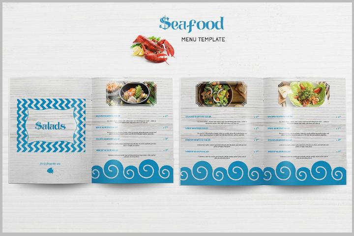 seafood-indesign-menu-template