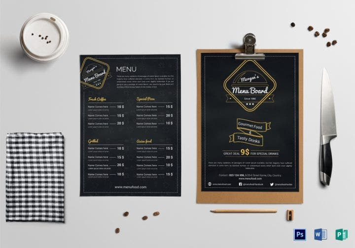 14 attractive restaurant signboard templates free premium templates. Black Bedroom Furniture Sets. Home Design Ideas