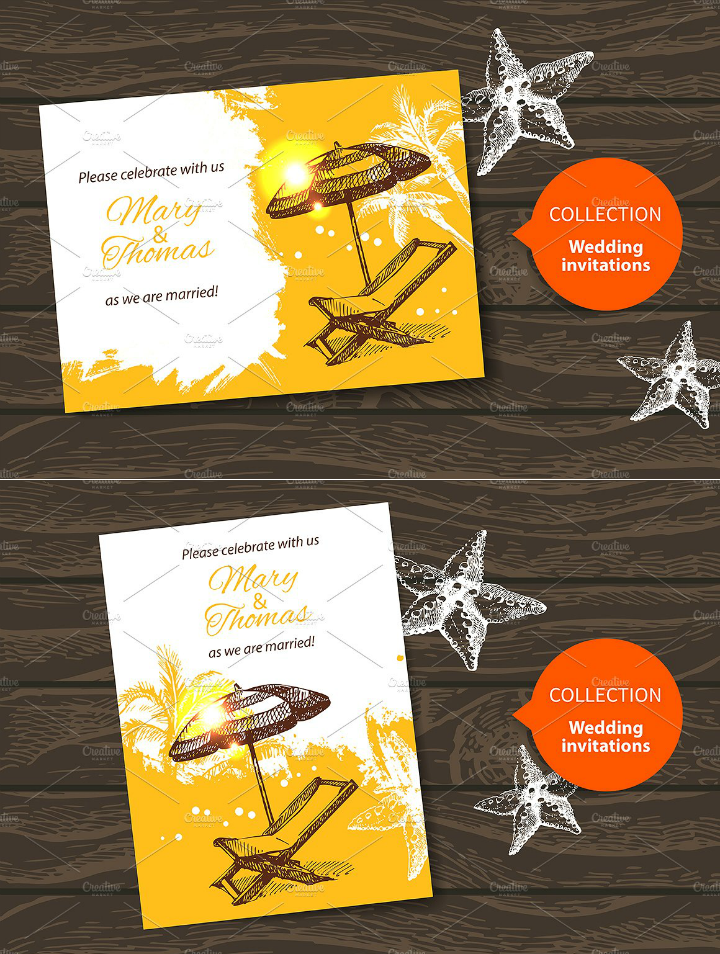 sketch-beach-wedding-invitation-template