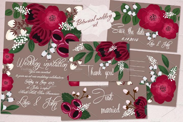 spring-floral-wedding-template-set