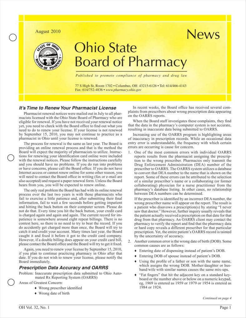 state board newsletter aug 2010 1 788x1019