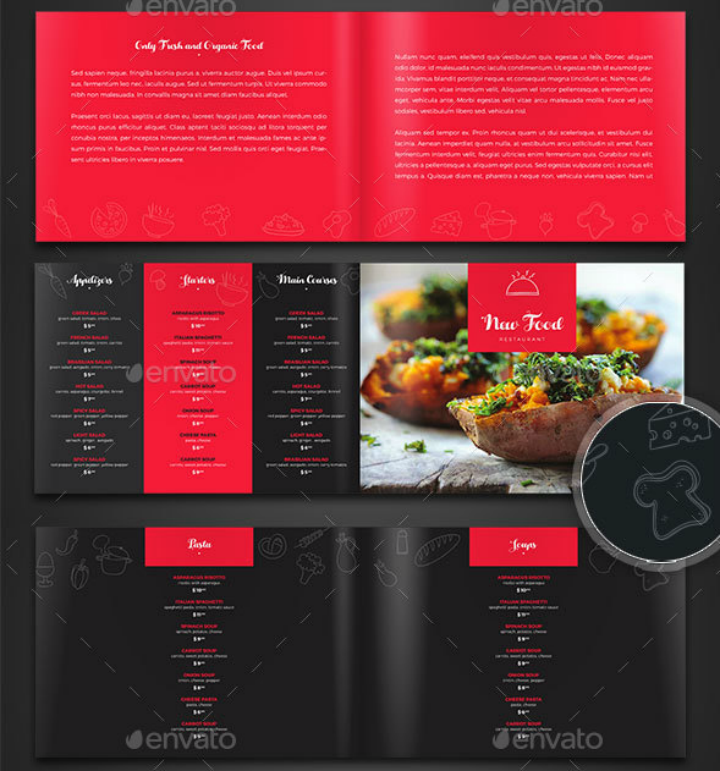 stylish-indesign-menu-template