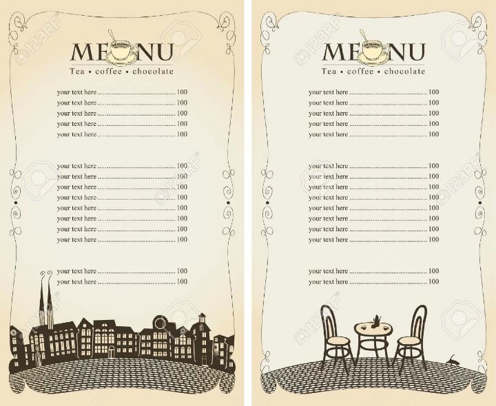 summer-cafe-blank-menu-template