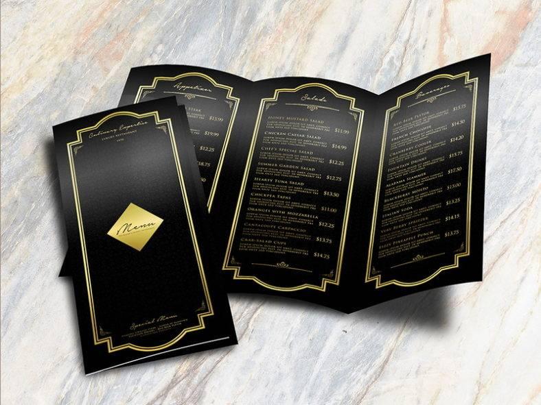 trifold restaurant menu 788x591