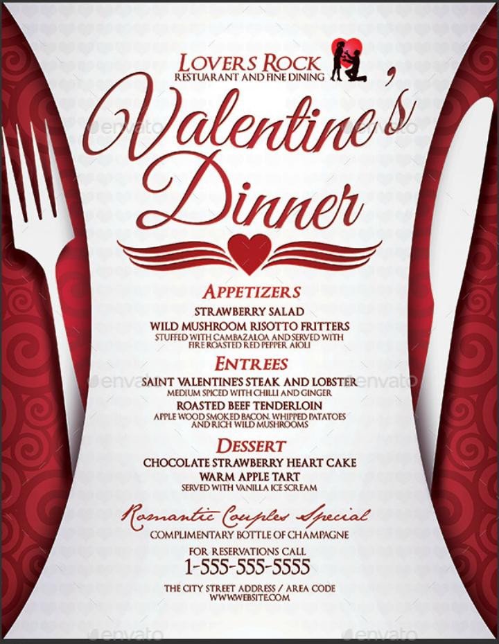 valentines-day-dinner-menu-design