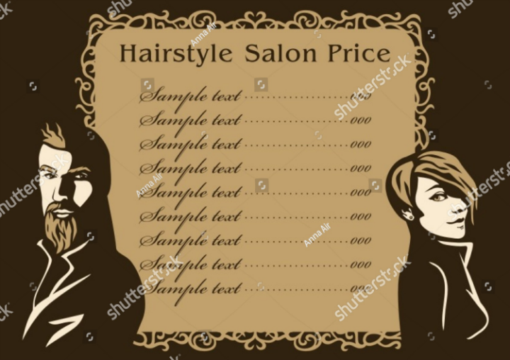 vector-salon-menu-design