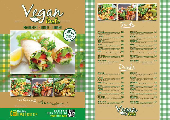 vegan-salad-bar-menu-template