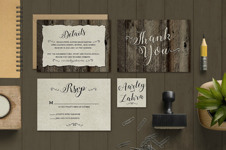 vintage-wedding-thank-you-card