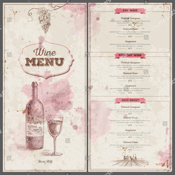 vintage-wine-menu-design