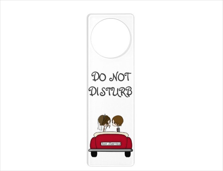 Wedding Car Door Hanger