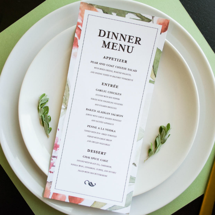 wedding-dinner-menu-design