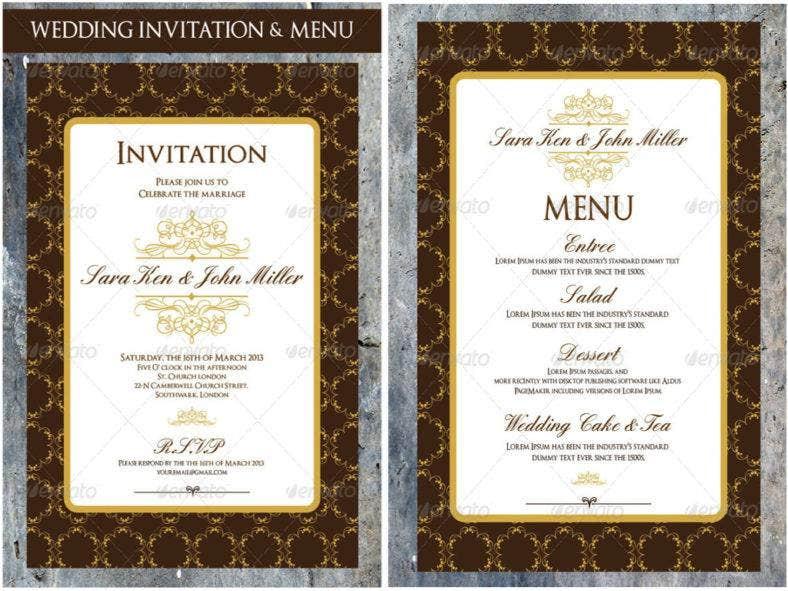 wedding-invitation-menu-cards-design