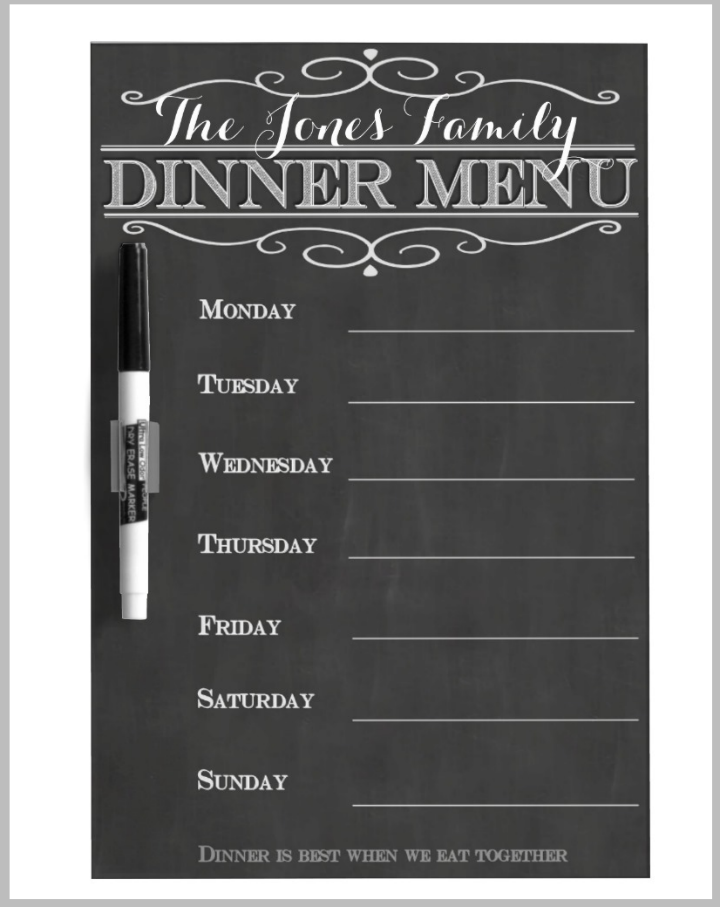 weekly-family-dinner-menu-design