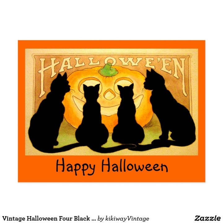 vintage_halloween_four_black_cats_and_pumpkin_postcard-r1b25b6e6544c4eb28979561a4a6527f4_vgbaq_8byvr_1024