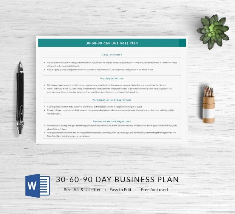 17 free 30 60 90 day plan templates word pdf free. Black Bedroom Furniture Sets. Home Design Ideas