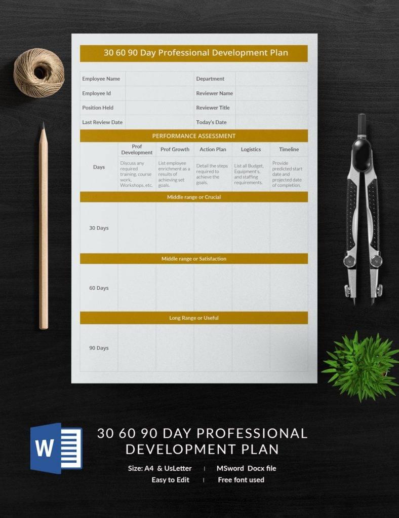 30_60_90_day_professional_development_plan