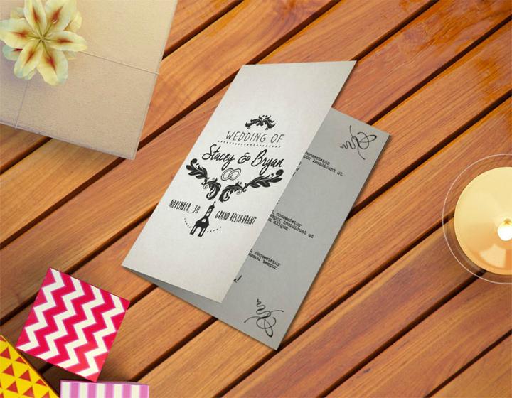 booklet wedding program template