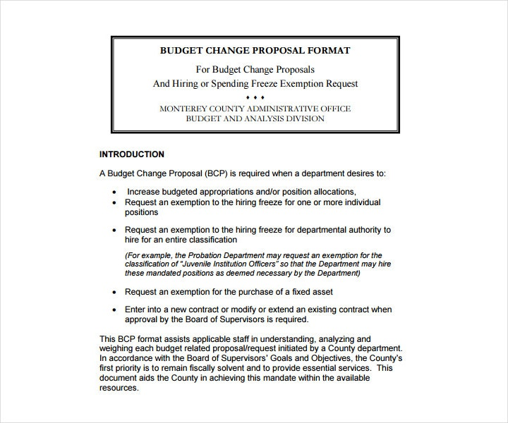 14+ Budget Proposals for a Restaurant, Cafe, Bakery - Free PDF, DOC