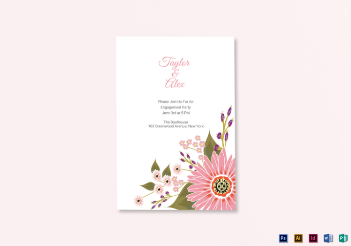 burgundy-floral-wedding-announcement-card-psd-template