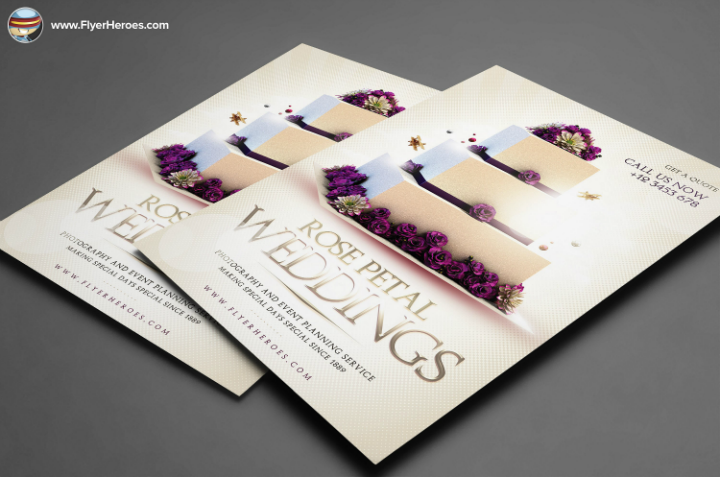 cake-wedding-psd-flyer-template