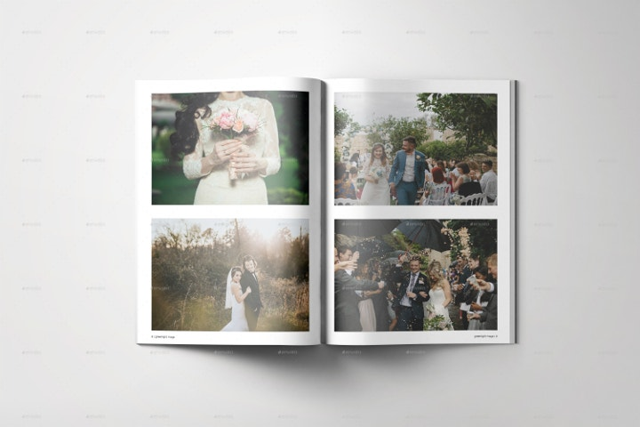 Clean Wedding Album