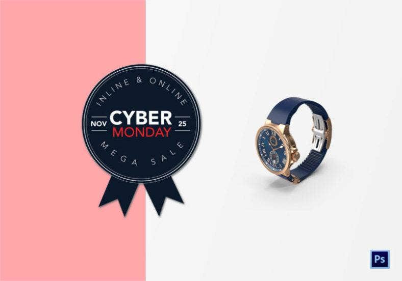 Cyber Monday Badge Design