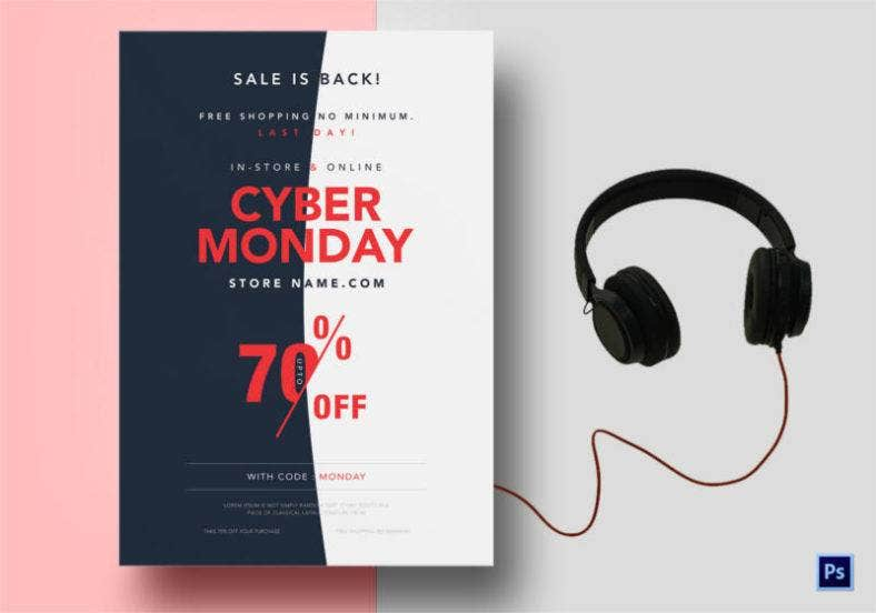 cyber monday poster template 788x552