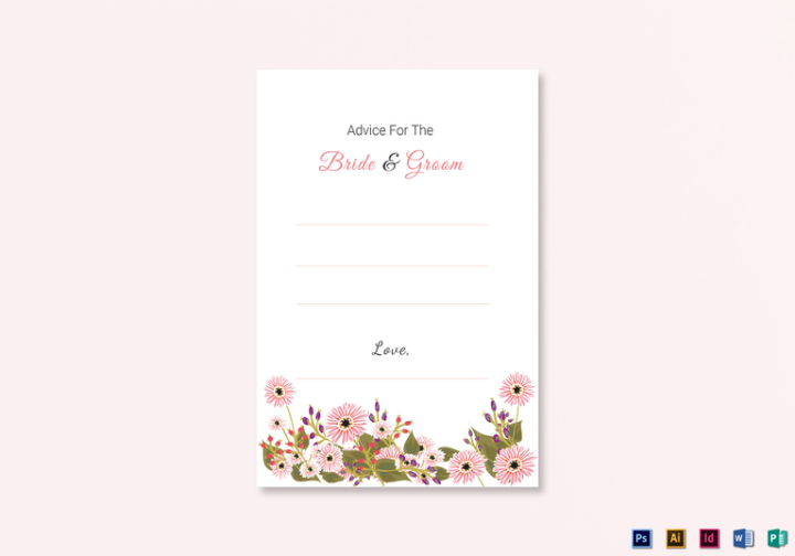 floral-wedding-advice-card-design-template