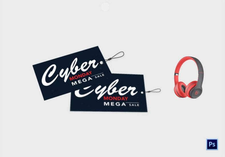 Free Cyber Monday Tag