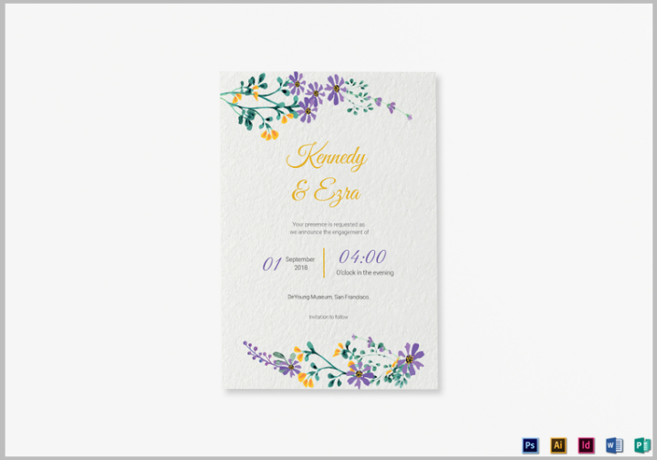 garden-wedding-announcement-psd-template