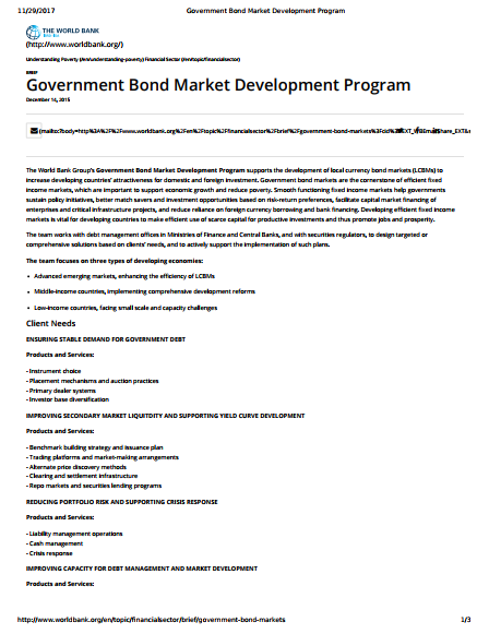 government-bond-development-program