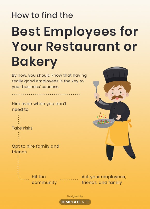 how to find the best employees for your restaurant or bakery