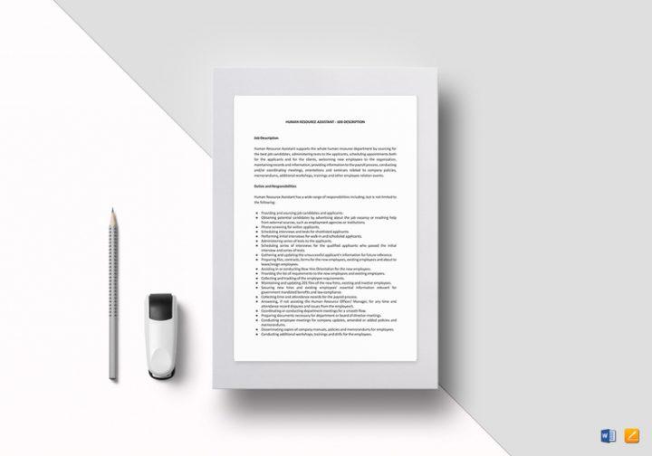 human resources assistant job description1 767x537 e1511334016919