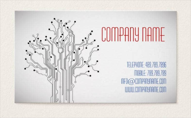 it-manager-business-card