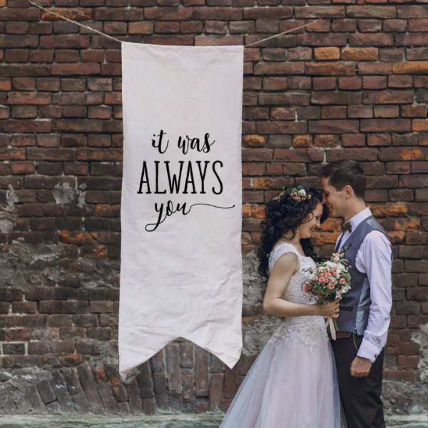 it was always you large wedding banner featured img