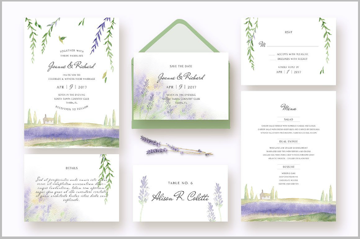 lavender-summer-wedding-invitation-template-kit
