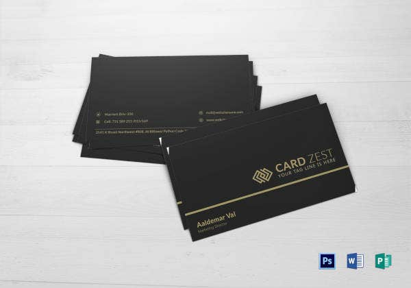 marketing-director-business-card-template