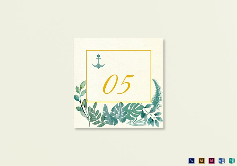 nautical-wedding-table-card-template